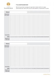Huvudvärkskalender PDF